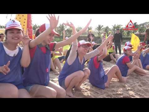 Teambuilding Công ty CC  - Resort Rock Water Bay - Bình Thuận