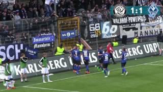 SV 07 Elversberg vs. SV Waldhof Mannheim 07