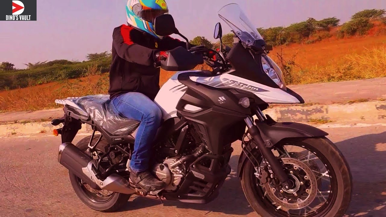 video Suzuki V-Strom 650 XT
