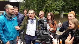 Секс на Набережной, мое интервью перед выходом девочек.