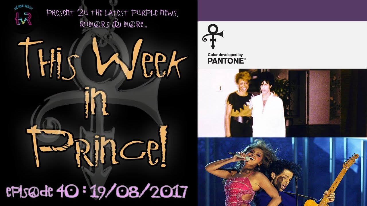 This Week in Prince! #040 - Interviews, Lyrics, Words & All Things Purple!
