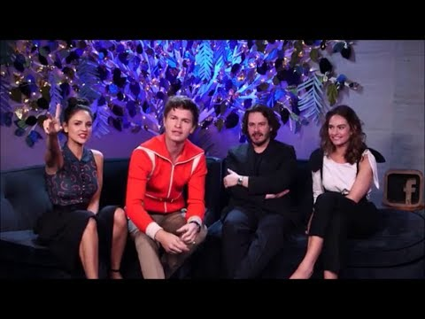 Baby Driver Movie stars Ansel Elgort,Eiza Gonzalez, Lily James  LIVE video from facebook