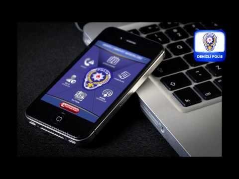 Denizli Polis Uygulaması - Denizli Emniyet Müdürlüğü Akıllı Telefon Uygulaması