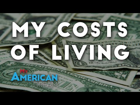 My costs of living | Internship USA