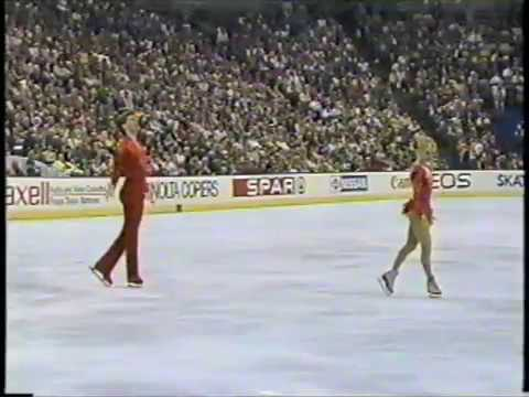 1987 World Figure Skating Championships - Pairs and Ladies