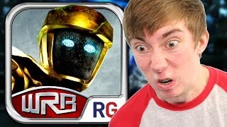 REAL STEEL WORLD ROBOT BOXING (iPhone Gameplay Video)