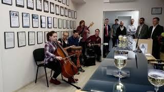 Живой оркестр в офисе на 8 Марта