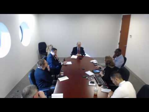 Editorial Board Meeting with State Senate President Martin M. Looney