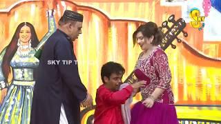 Amjad Rana and Vicky Kodu   Stage Drama Rang Barangi   Full Comedy Clip 2019