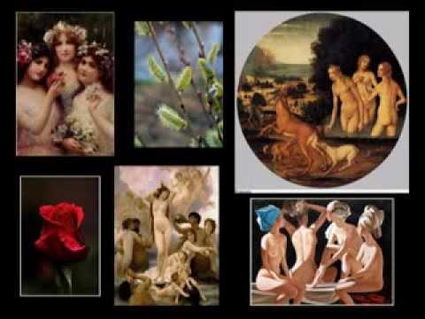 Эротика красивого обнаженного женского тела в фотографиях