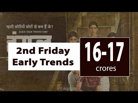 Dangal Second Friday Box Office Early Trends | Fabulous Hold For First Week