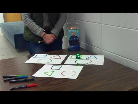 How to use ozobot to learn basic shapes and colors