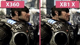 [4K] Gears of War 2 – Xbox 360 vs. Xbox One X Graphics Comparison