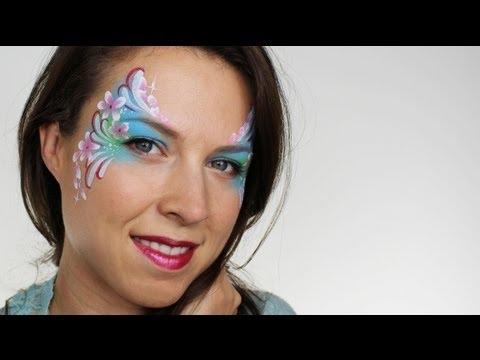 Flower Fairy Face Painting | Ashlea Henson
