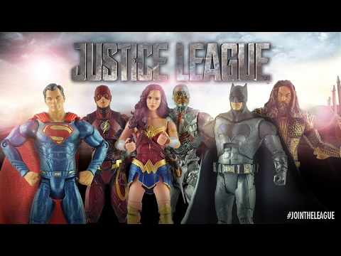 Mattel Justice League Action Figures Reveal!