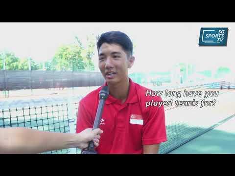 Steve Ng   Team Singapore Tennis Feature