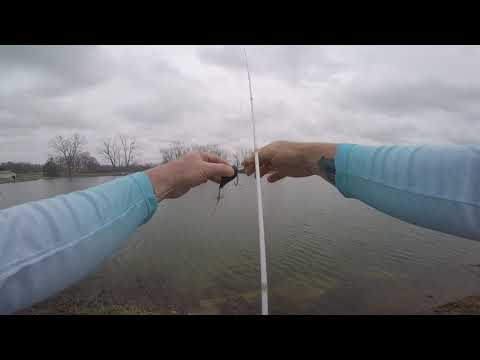 Madison Lake Dayton Ohio April 2019 Bass Fishing