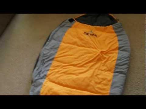 Teton Sports Trailhead+20 Sleeping Bag Review