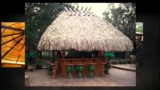 Best Sunrise Fl. (954) 282-9242 Tiki Hut Builder& Repair Custom |backyard Bar | Chickee | Thatching