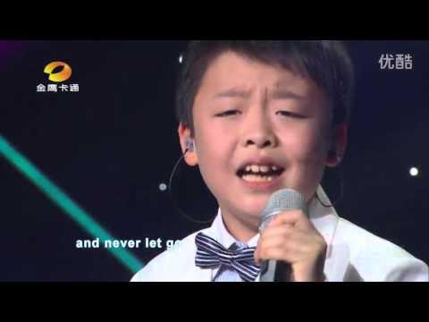 李成宇Jeffrey Li - I Surrender - Let's Sing Kids 2015,中国新声代