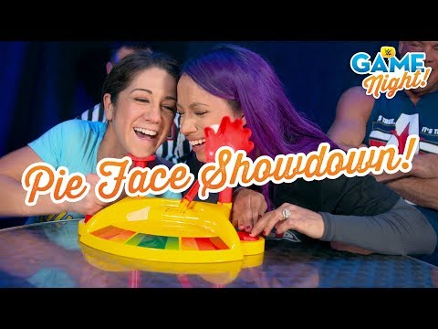 WWE Superstars play Pie Face Showdown: WWE Game Night