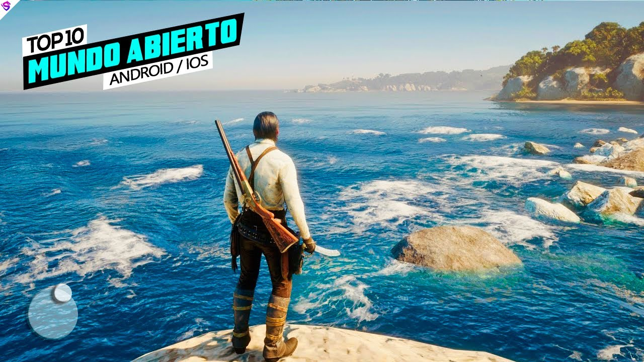 TOP 10 Best OPEN WORLD Games !!  For Android & iOS 2021 ✔️