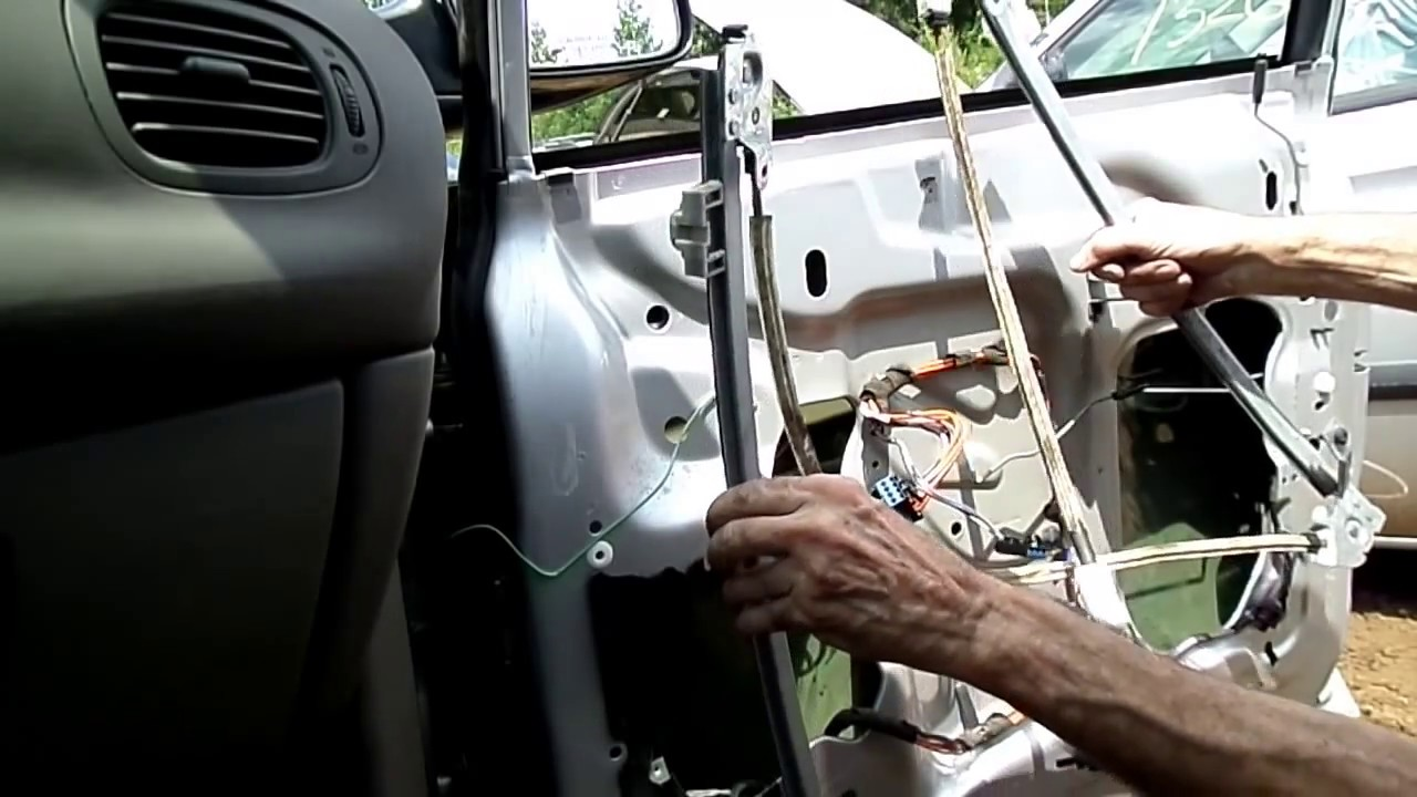 dodge caravan voyager window regulator motor removal [ 1280 x 720 Pixel ]