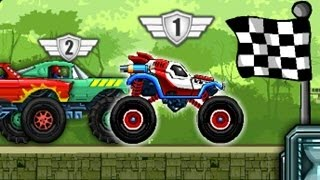 Monster Wheels 2 - Top Monster Truck Racing