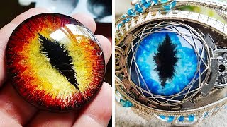 HANDMADE DRAGON EYE JEWELRY THAT LOOKS FANTASTIC