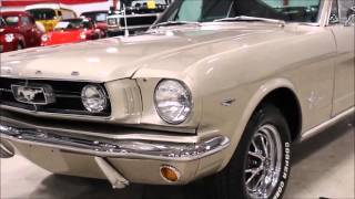 1965 Ford Mustang Fast Back Beige