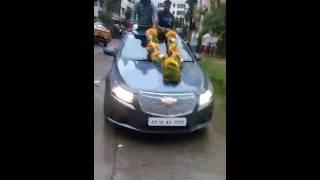Ganesh mala rally miyapur