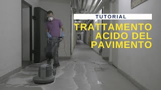 ITA No11 Trattamento acido del pavimento