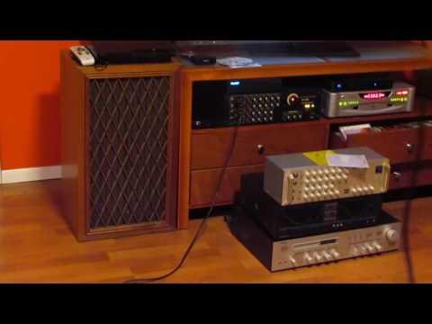 karaoke voi amplifier PA-1300 & LOA. PIONEER CS-88A