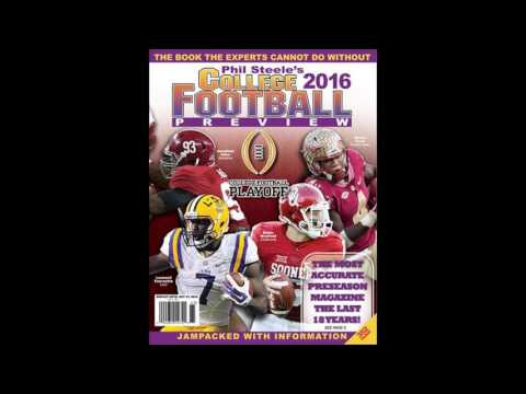 Phil Steele Previews 2016 College Football Season