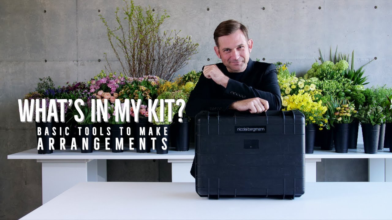 Flower Arrangement Toolkit A Professional Introduction Youtube