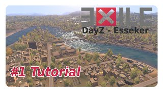 Arma 3: Exile DayZ Mod Esseker #1 Tutorial+Gameplay [German] [Frozen-Crusade]