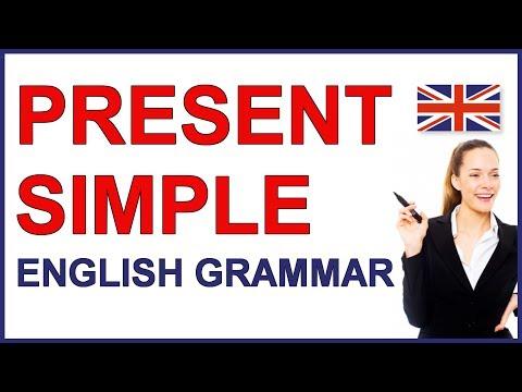 Present Simple verb tense | Present simple English verb