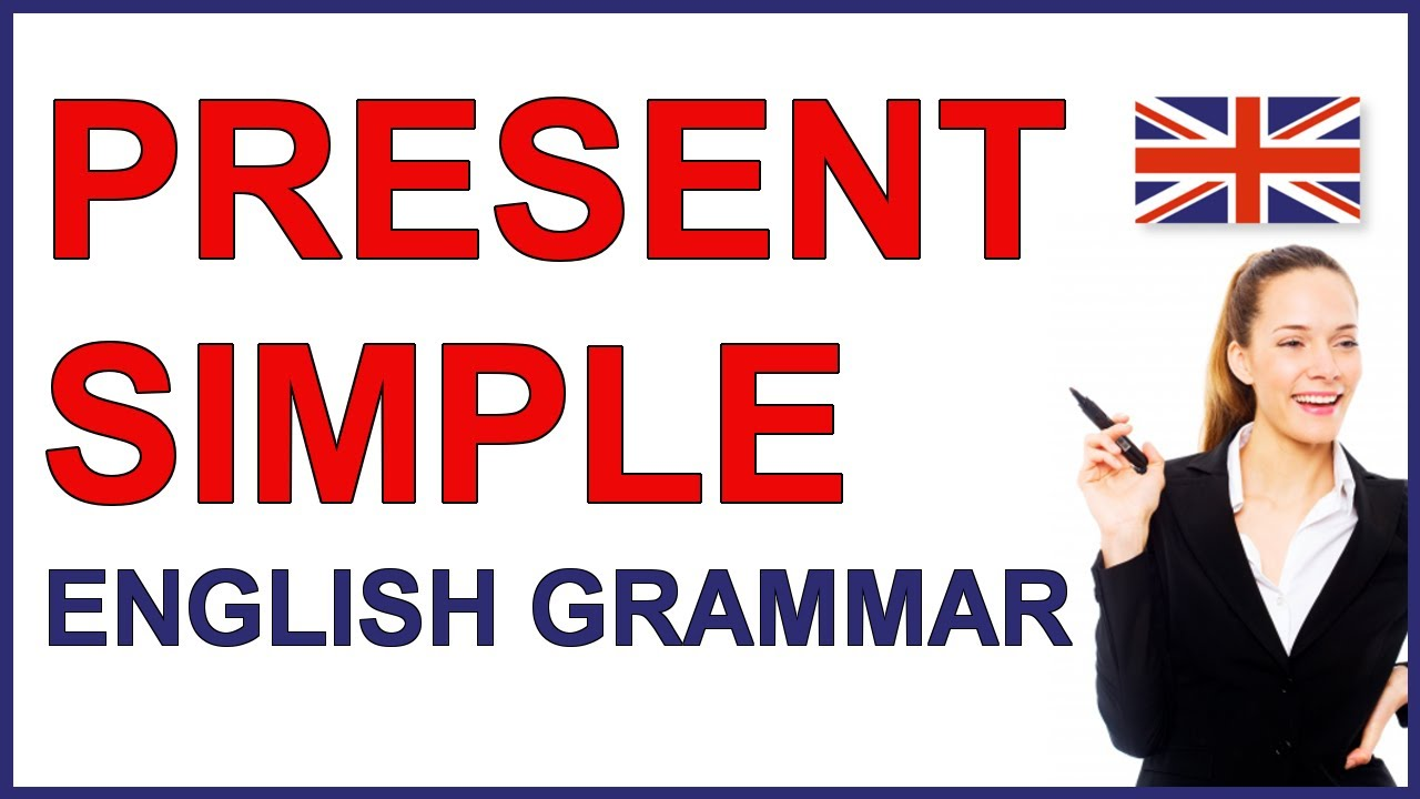 small resolution of Present Simple verb tense   Present simple English verb - YouTube