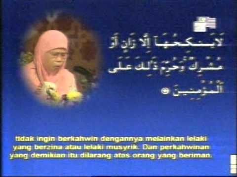 Women Quran Reciter.. Hajjah Rahmas Abdullah