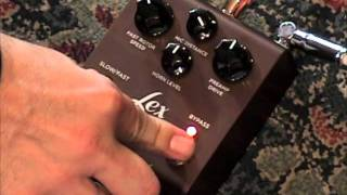STRYMON Lex Rotary leslie guitar effects pedal demo