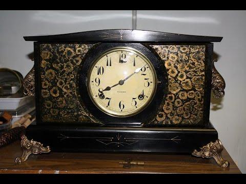 Repairing T's Gilbert Mantel Clock Movement