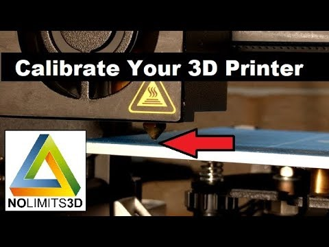 Calibrate your 3D printer! - A tutorial for the ENDER 3D printer