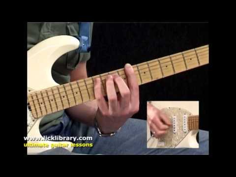 The House Is Rockin' Stevie Ray Vaughan Cover Guitar Performance | SRV Guitar Lesson DVD Licklibrary