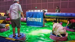 FORTNITE MINIGAME IN REAL LIFE!! - Robleis