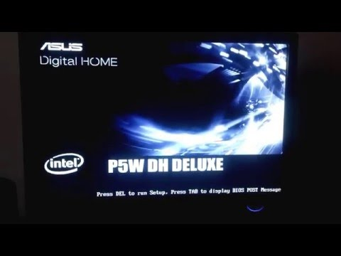 error ASUS Digital HOME P5W DH DELUXE
