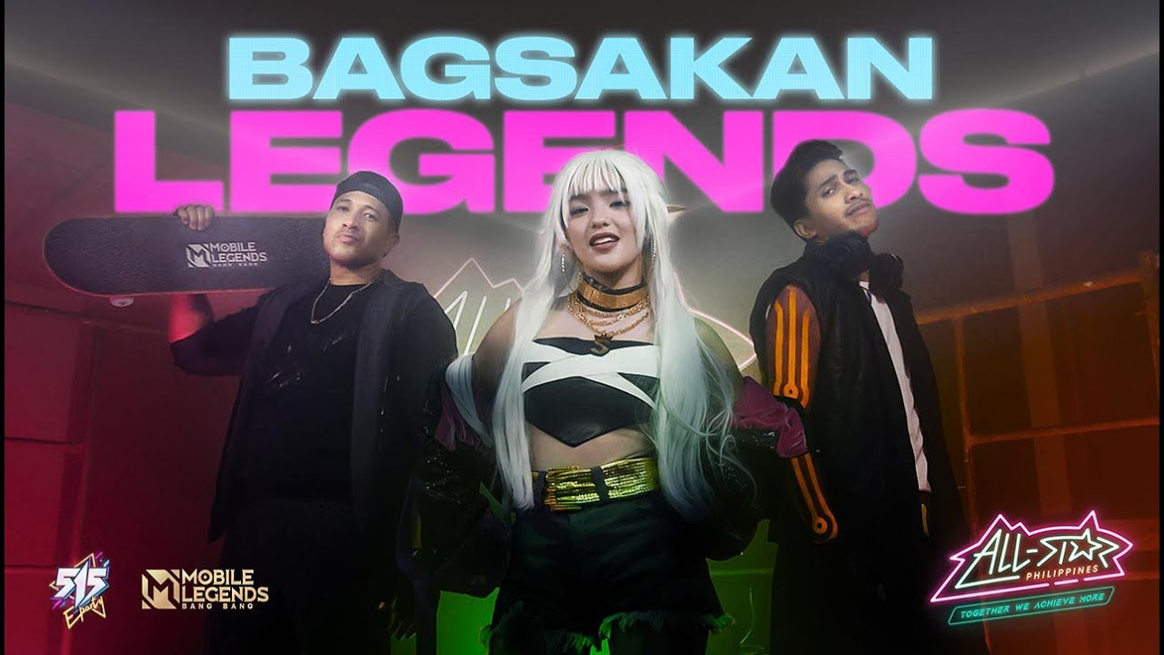 BAGSAKAN LEGENDS ft. Andrea Brilliantes, Dogie, ChooxTV and Eruption (Official Music Video)