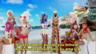 Katy Perry California Girls Gurls Legenda Tradução   HDTV   YouTube