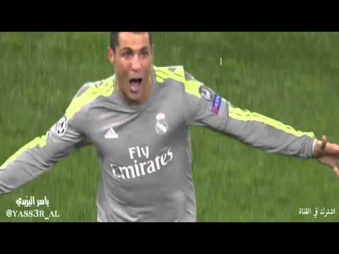 اهداف مباراة  ريال مدريد الاسباني وروما الايطالي - هدف كريستيانو رونالدو - دوري ابطال اوروبا HD