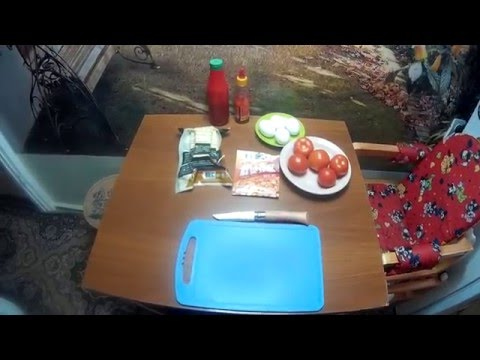 Тофу и томатом