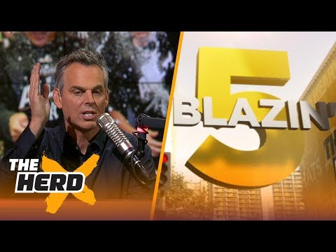 Blazin' 5: Colin's picks for 2017-18 NFL Week 6 | THE HERD